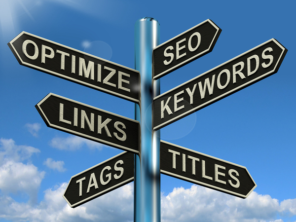 SEO optimize keywords with website design
