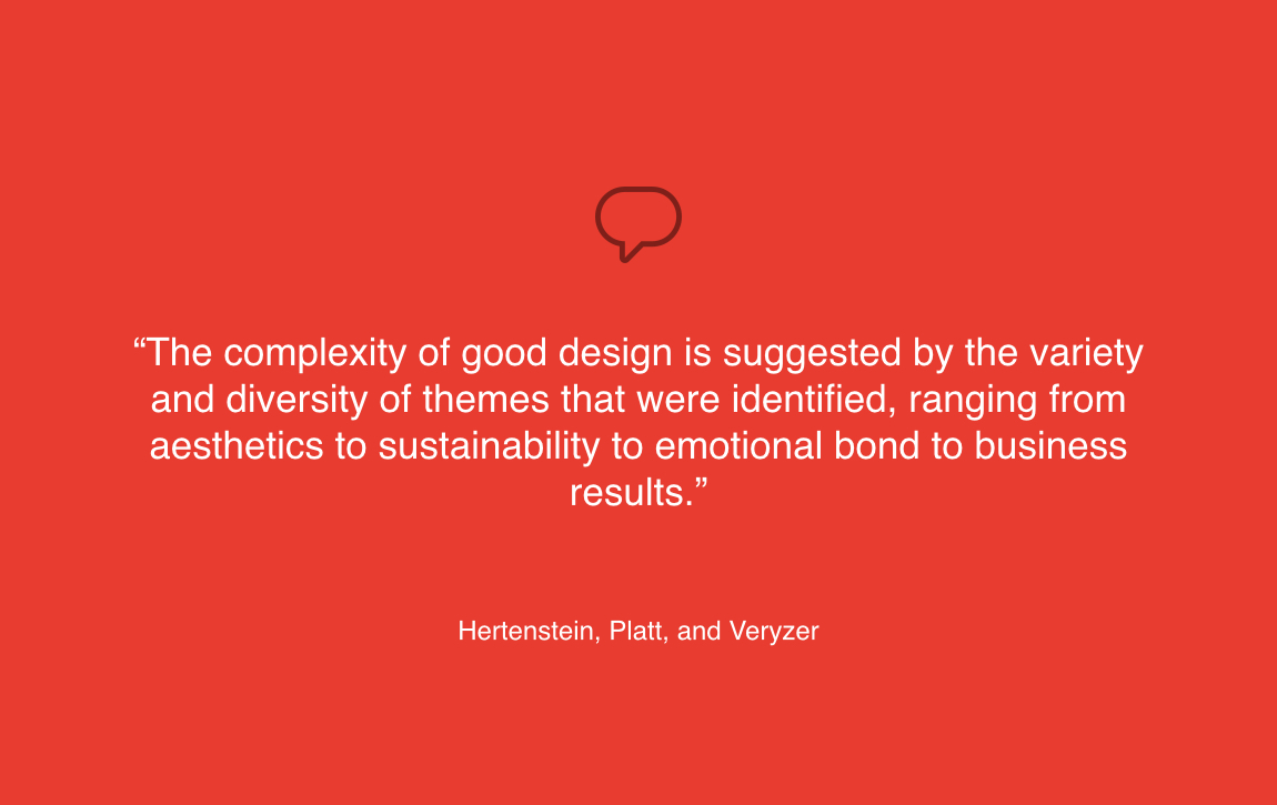 the complexity of design is diverse quote