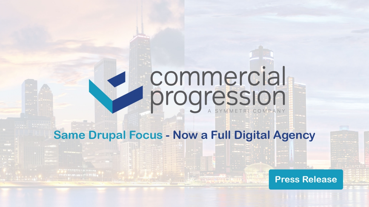 Commercial Progression merges with Symmetri Marketing Group to become a full service digital agency