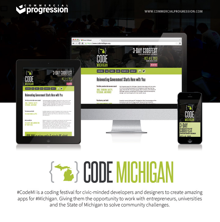 code michigan responsive design case study
