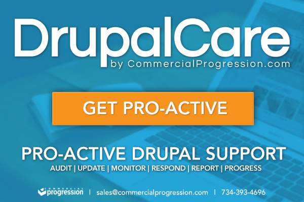 drupal care proactive drupal support