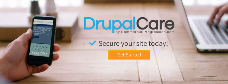 DrupalCare by Commercial Progression proactive support