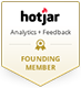 Hotjar website analytics founding member