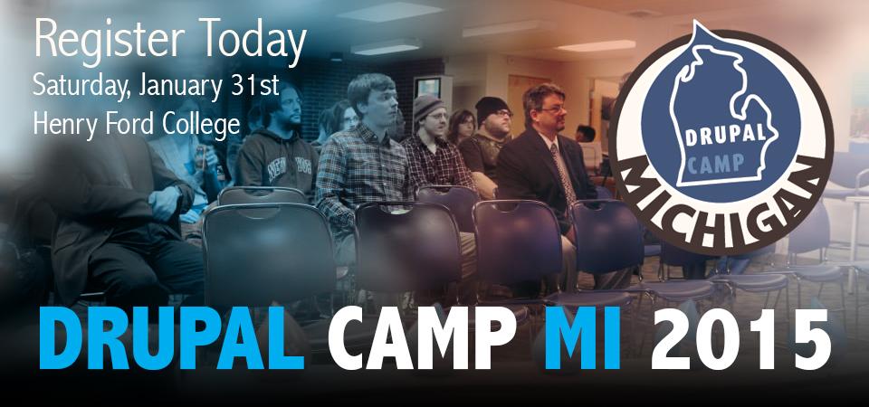 Michigan DrupalCamp banner