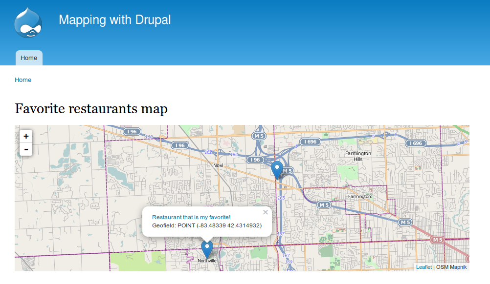 Get started building your own amazing maps with Drupal | Commercial ...