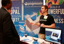 Commercial Progression event booth consultiation