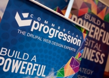 Commercial Progression booth banners