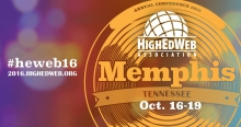 HighEdWeb 2016 Annual Conference October 16-19 in Memphis, Tennessee